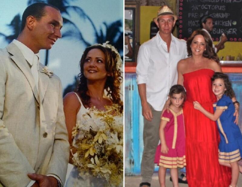 Andrea y Erik llevan 12 años de matrimonio.