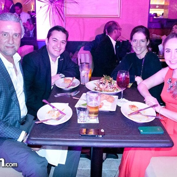 Juan Pablo Treviño, Reynold Montemayor, Regina Gutiérrez y Liz Vázquez