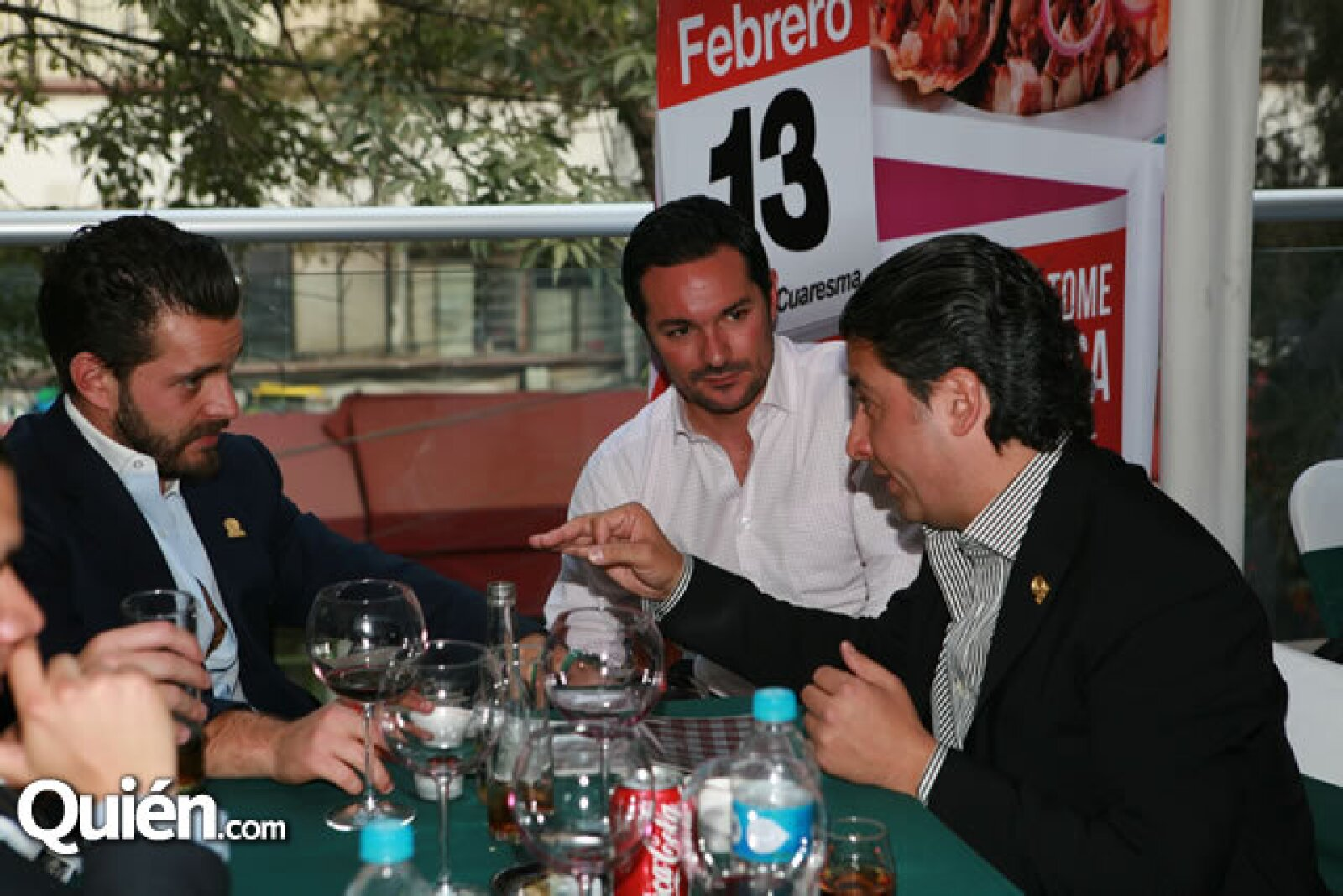 Diego Cuaik, Pablo Gutiérrez y Eucario González