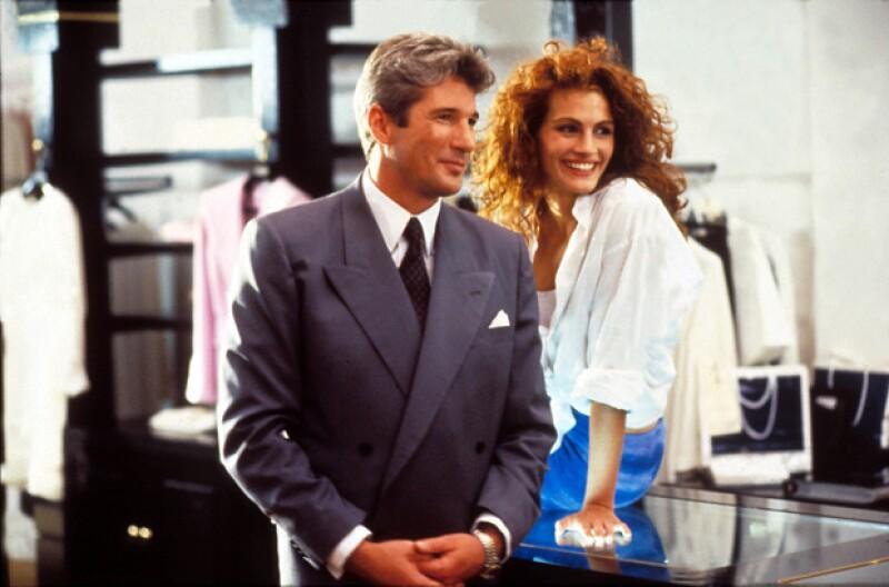 Así lucían Richard Gere y Julia Roberts en la película, hace 25 años.