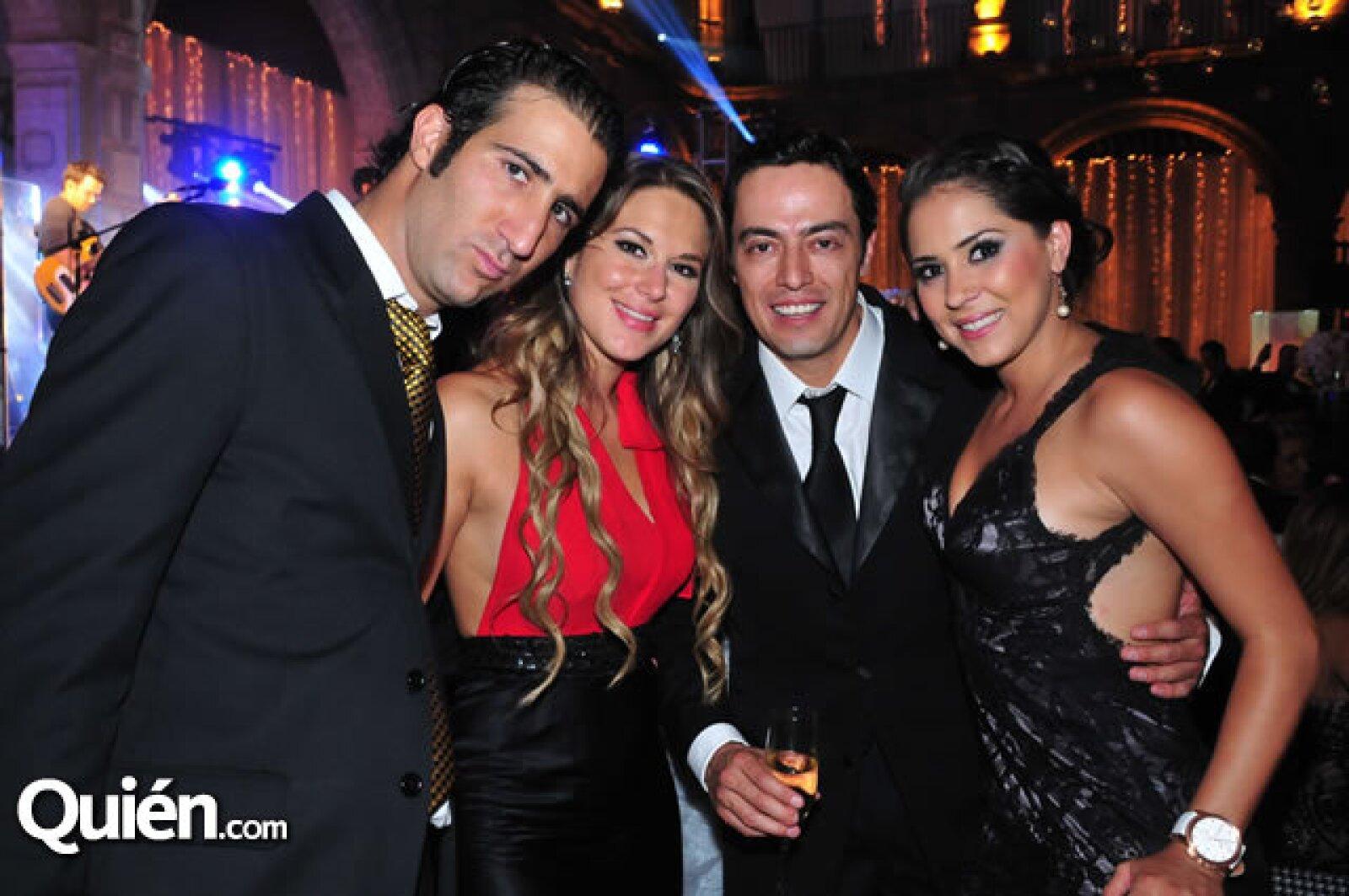 Isaac Mougrabi,Diana Villa,Lorena Granjewicz,Eduardo Chabat