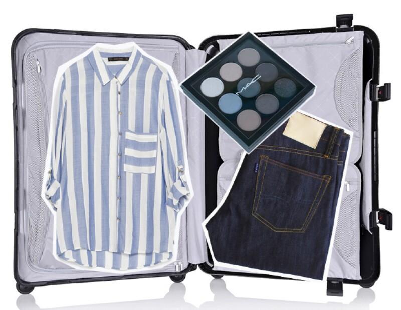 Trata de planear qué vas a usar en el viaje para poder llevar makeup acorde.