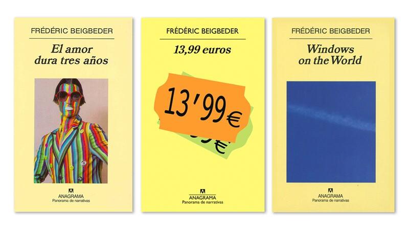 Frederic Beigbeder bibliografia
