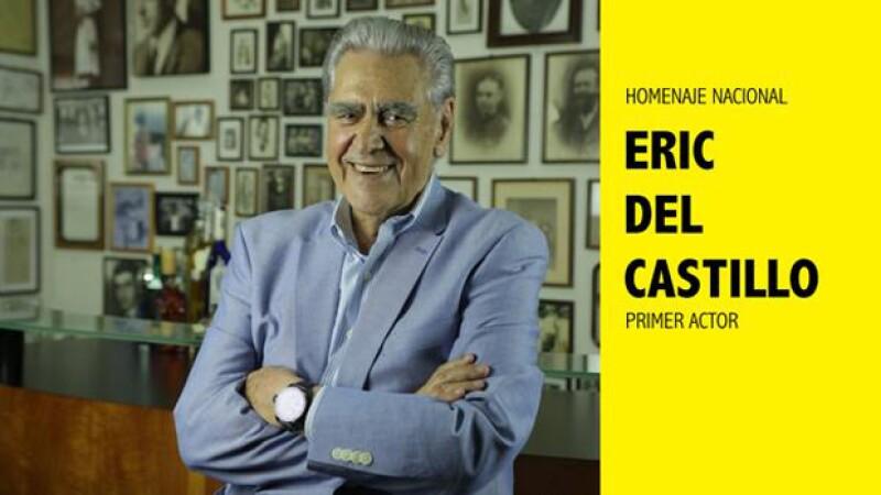 Eric del Castillo tendrá una gran fiesta homenaje en San Miguel de Allende.
