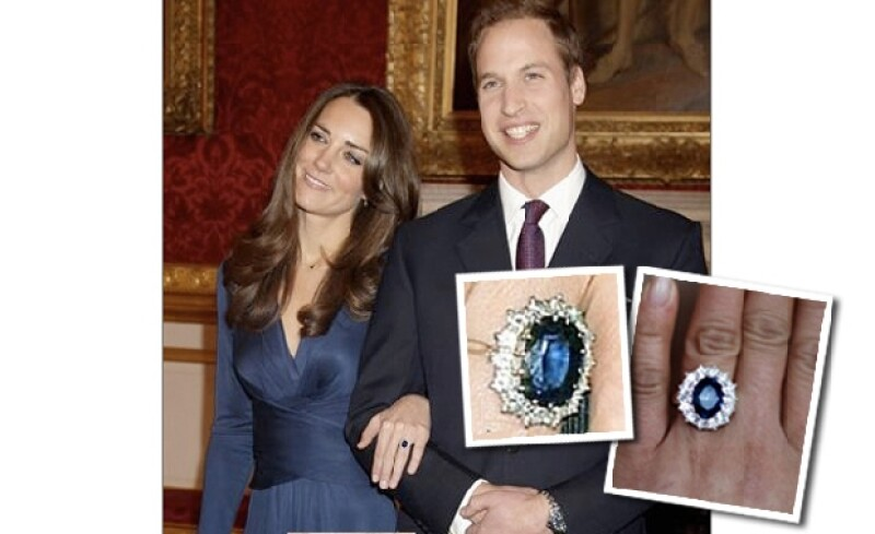 Es tanto el furor de la boda real británica que la industria oriental ya hizo una copia del anillo de compromiso, que alguna vez perteneció a Lady Di.