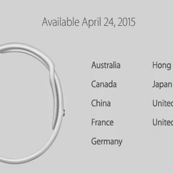 China, Australia, Canadá, Estados Unidos, Reino Unido, Alemania, Francia, Japón y Hong Kong serán los primeros en recibirlo.