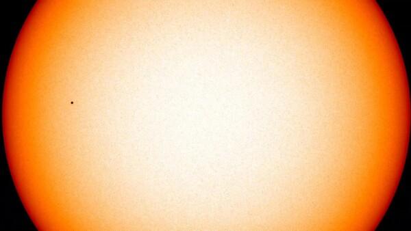 Así se vio el tránsito de Mercurio frente al Sol