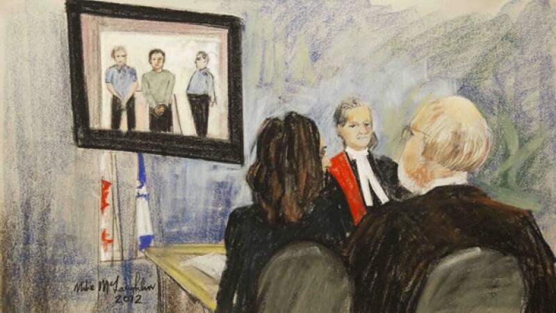 Jueces y fiscales analizan el caso de Luka Rocco Magnotta