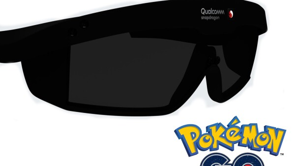Qualcomm y creadores de Pokémon trabajarán en gafas de AR