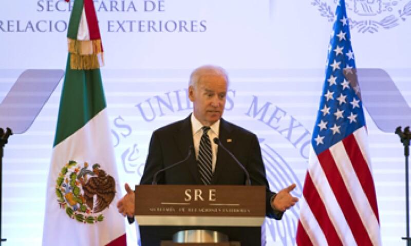 El vicepresidente llegó a México la noche del jueves. (Foto: Notimex)