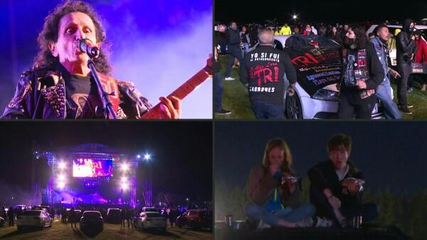 El rock de El Tri suena en un autoconcierto durante el confinamiento