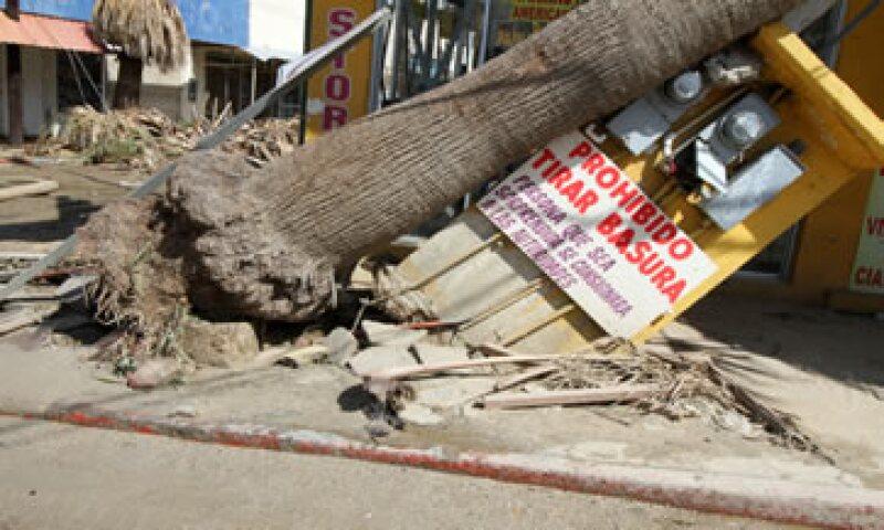 Cientos de personas saquearon agua, comida y artículos de primera necesidad de tiendas Wal-Mart, OXXO y otras. (Foto: AFP)