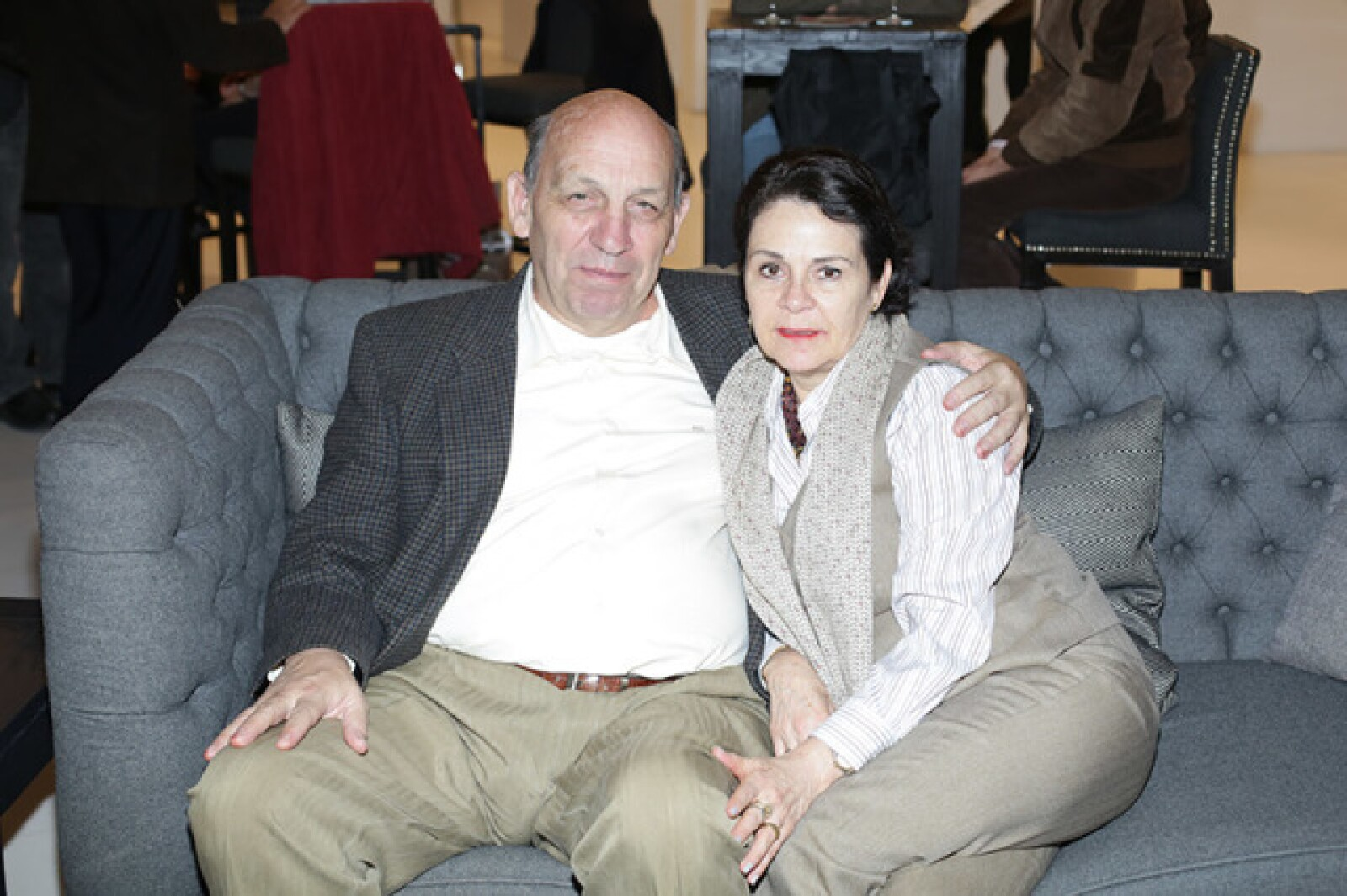 Ricardo González y Lourdes Rueda