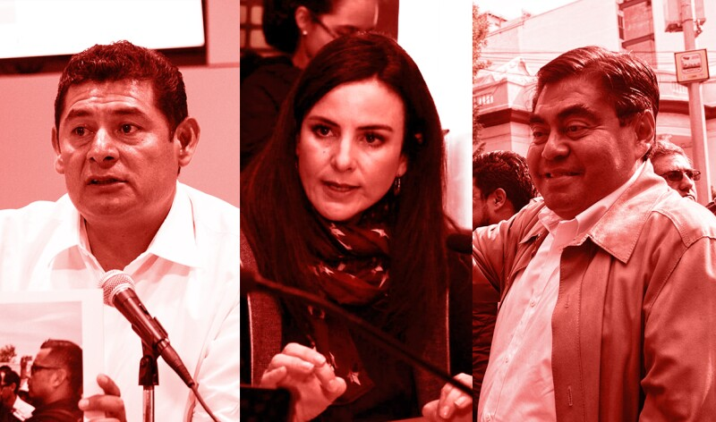 Aspirantes de Morena en Puebla