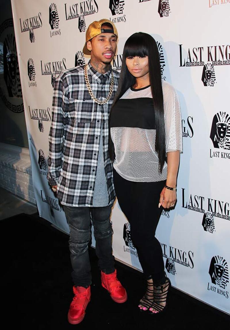Ella es Blac Chyna, la modelo de hip hop con la que Tyga estuvo comprometido, antes de andar con Kylie.
