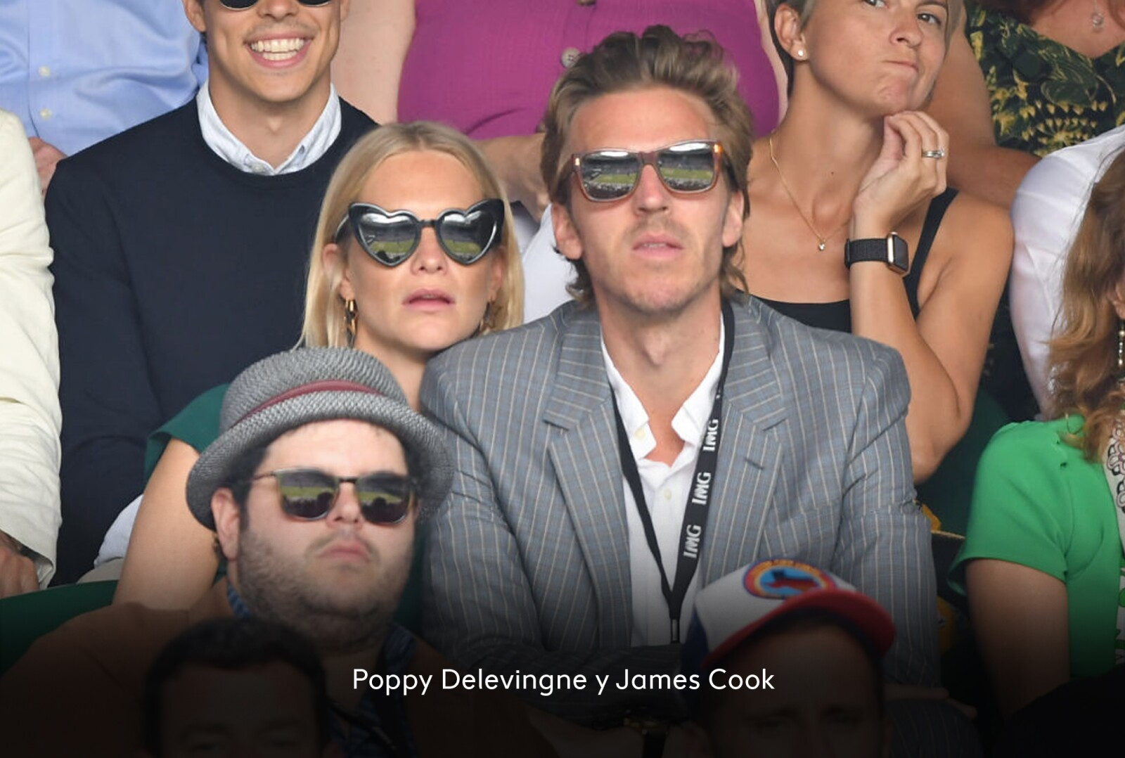 Poppy Delevingne y James Cook