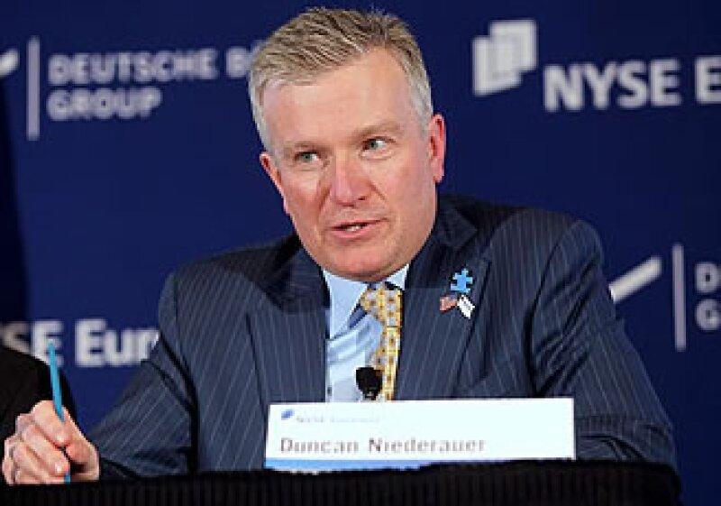 Duncan Niederauer, presidente ejecutivo de la Bolsa de Valores de Nueva York (NYSE). (Foto: Fortune)