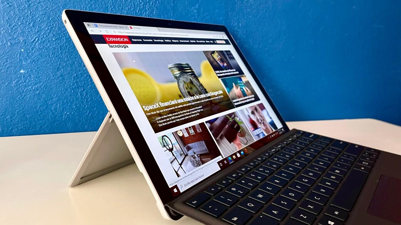 Reseña: Surface Pro 7+, los cambios más importantes son en el interior