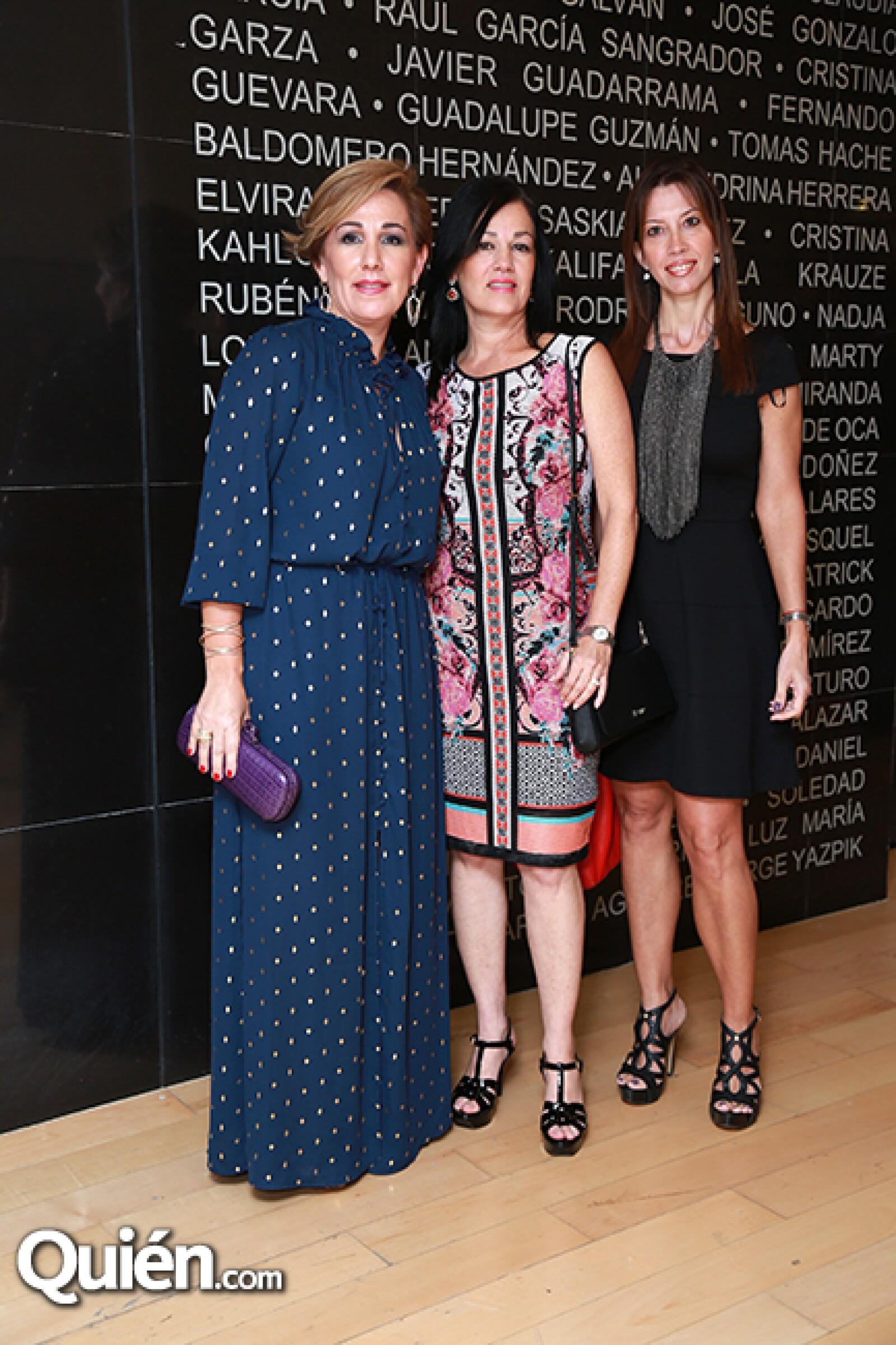 Lourdes Suárez de Herrera,Zandra González de Carrasco y Cecilia García de de León