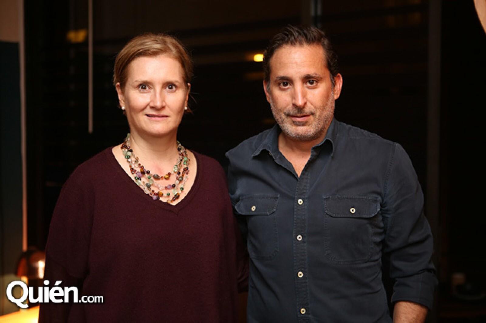 Ana Elena Mallet y Moisés Micha