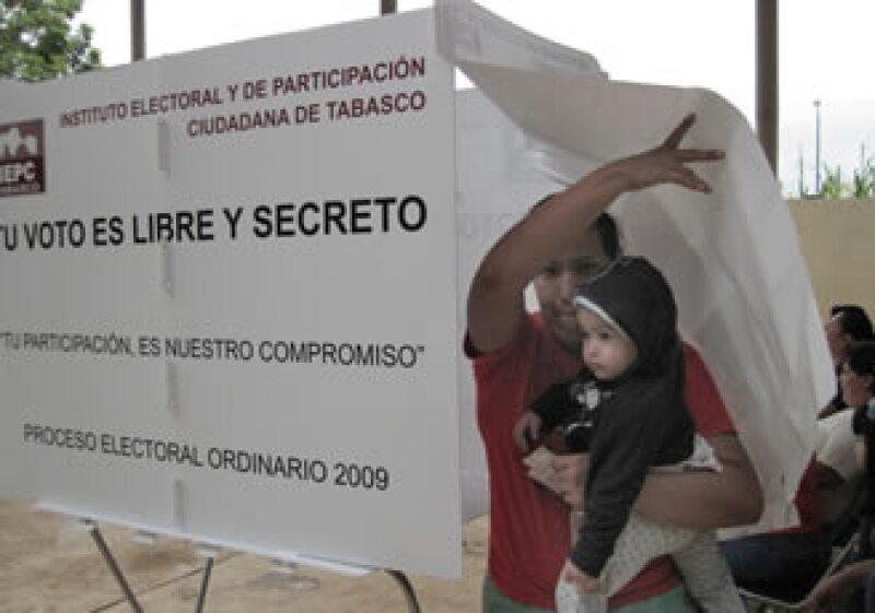 En Tabasco, el Programa de Resultados estableció en 57.86% la participación ciudadana. (Foto: NTX)