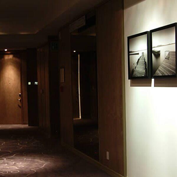 Las 189 habitaciones tienen una disposición circular y ofrecen vistas espectaculares a la Ciudad de México.