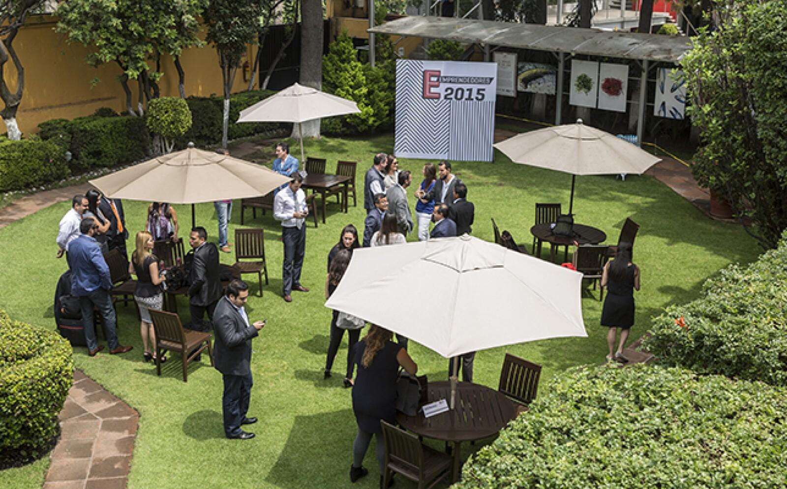 Desde las primeras horas, los finalistas comenzaron a llegar a las instalaciones de Grupo Expansión para dar inicio a las actividades previas a su presentación oficial, que se llevó a cabo por la noche.