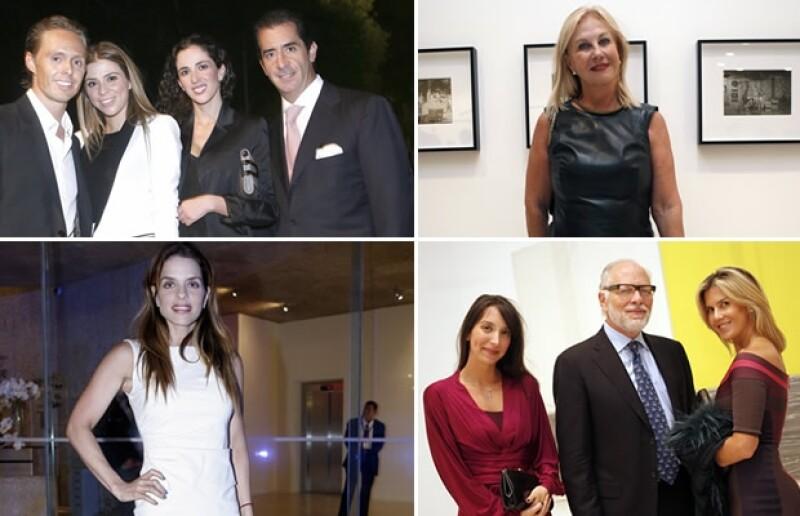 Gretta y Juan Carlos Peralta, Guadalupe Ramos Cárdenas, Rossana Lerdo de Tejada, Lulú Creel.