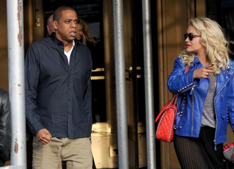 Jay-Z y Rita Ora.