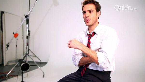 El actor, uno de los Sexys 2013 de Quién.com, nos revela cuáles han sido los programas de telvisión que han ido marcando su vida desde que era chiquito.