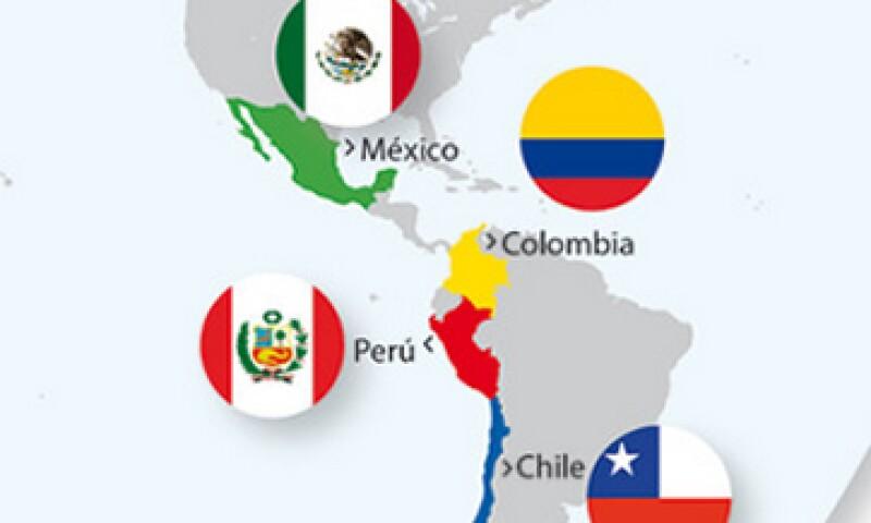 México, Chile, Colombia y Perú suman un mercado de 212 millones de personas. (Foto: Especial)