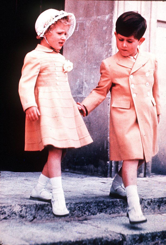 Princesa Ana y Príncipe Carlos