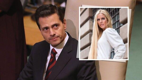 Enrique Peña Nieto, Tania Ruiz Eichelmann