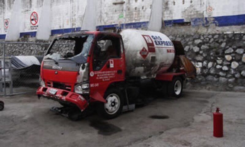 Gas Express Nieto quedo inhabilitada en el Gobierno del DF tras la explosión. (Foto: Cuartoscuro )