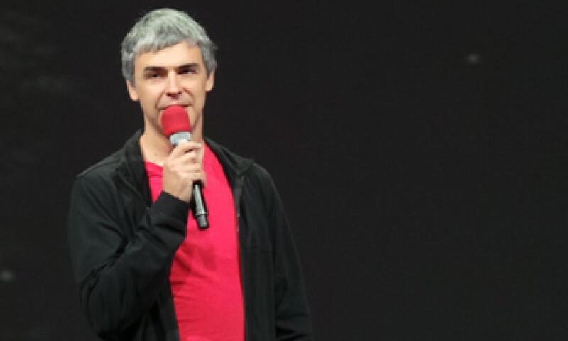 Larry Page, CEO de Google, dijo estar emocionado con el proyecto de su compañía para conectar varias ciudades de Estados Unidos con Internet rápido.  (Foto: Francisco Rubio)