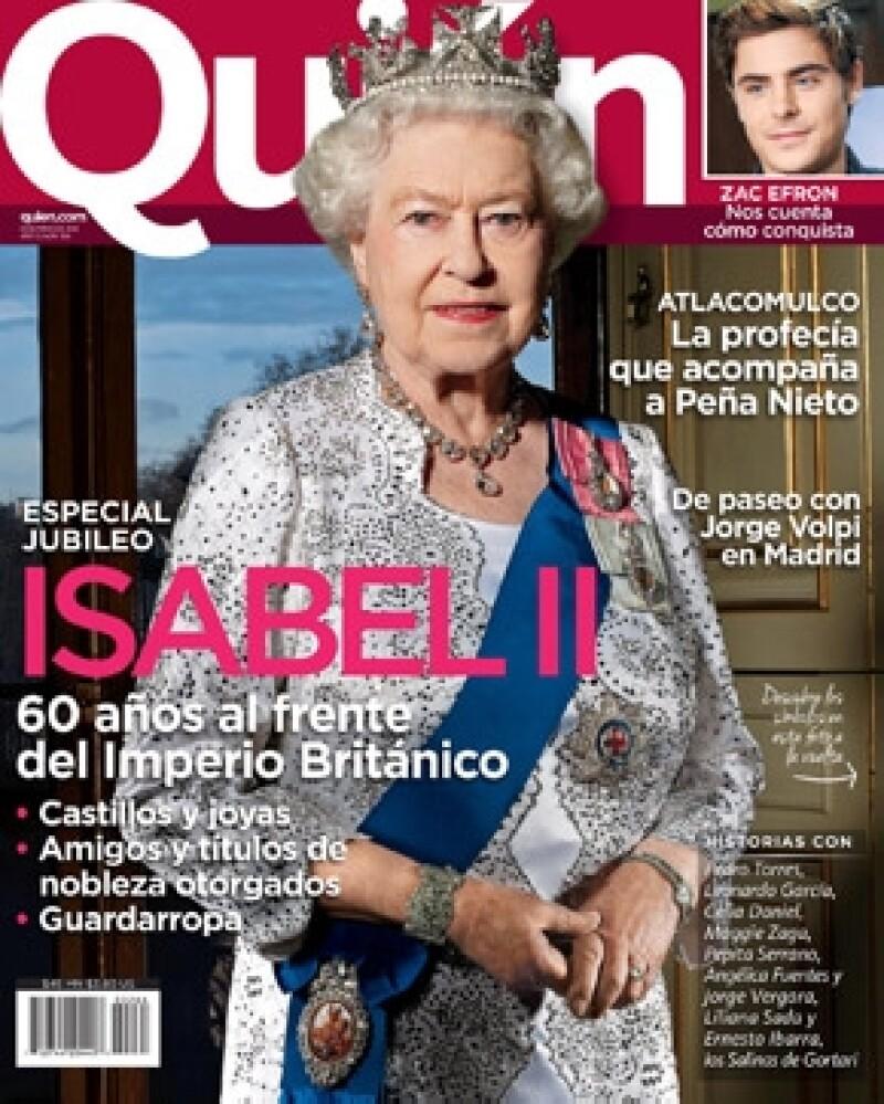 Isabel II es la portada de la revista Quién.