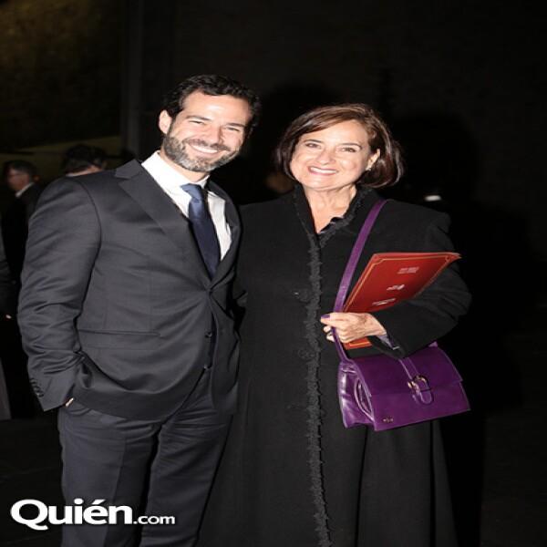 Emiliano Salinas,Cecilia Occelli