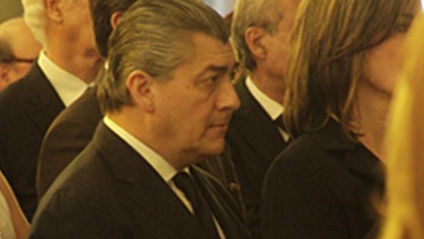 José Antonio Fernández Carvajal, presidente del Consejo de FEMSA, durante la ceremonia.