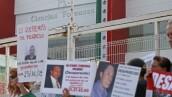 Manifestación Familiares Desaparecidos SEMEFO.