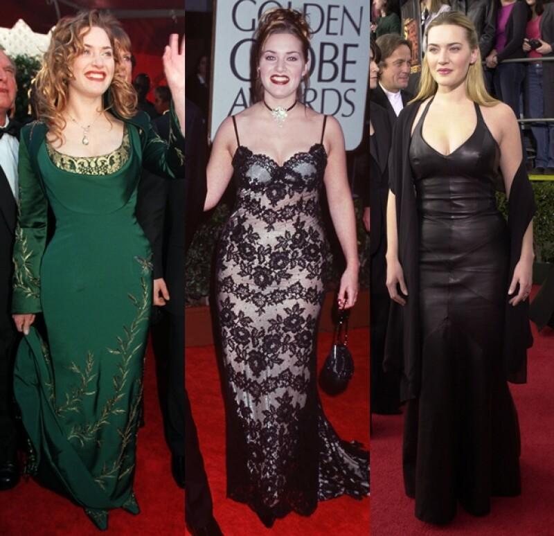 Hemos sido testigos de la transformación de Kate desde su salto a la fama en Titanic hasta convertirse en una actriz de gran prestigio, y en todo este tiempo, ¿has notado cómo han cambiado sus looks?