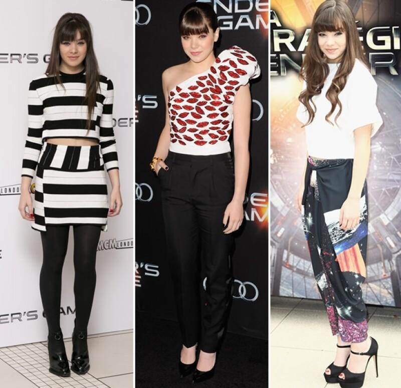 Hailee Steinfeld es fanática de la moda.