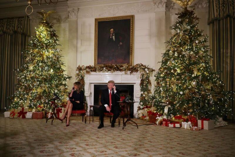 Melania Trump prepara la navidad en la Casa Blanca 2.jpg