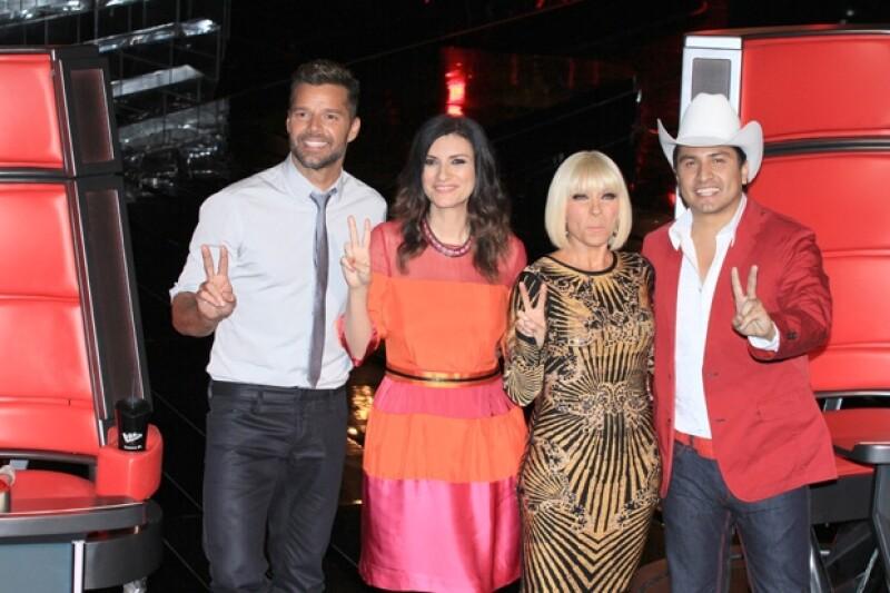 Ricky Martin, Laura Pausini, Yuri y Julión Álvarez serán los guías de los concursantes.