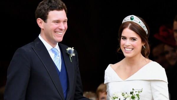 Así agradeció la princesa Eugenia a quienes asistieron a su boda