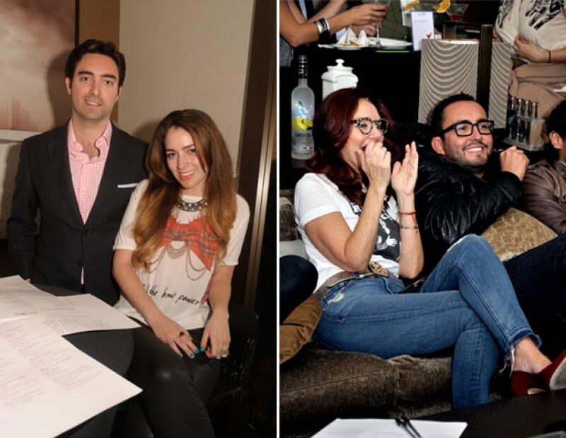 Diego Bally,Lorenza Lazo y Lissette Trepaud con Rodrigo González.