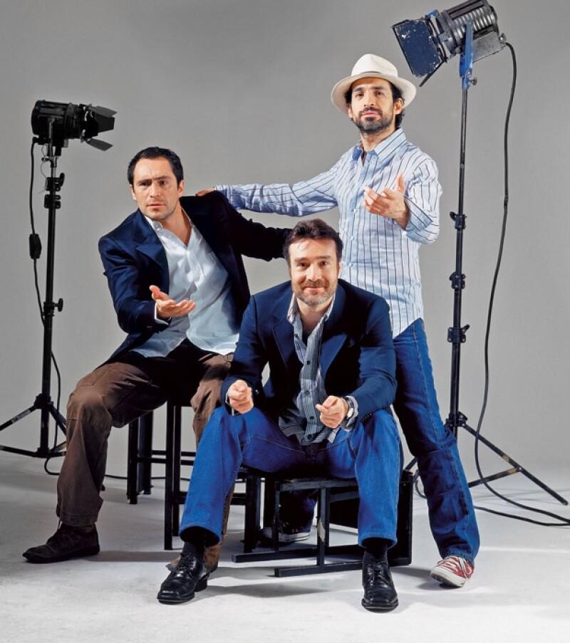 Demián, Odiseo y Bruno se han dedicado toda su vida a la actuación.