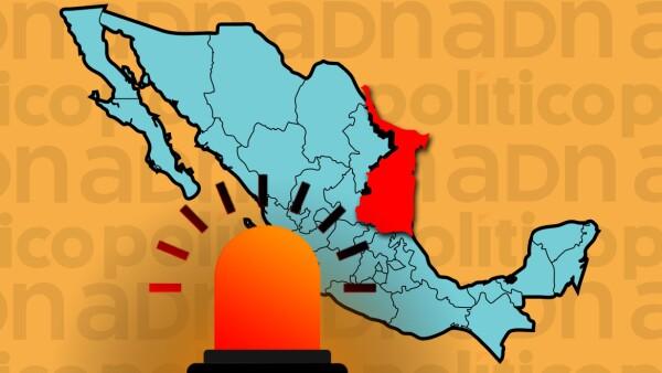 Tamaulipas: foco rojo