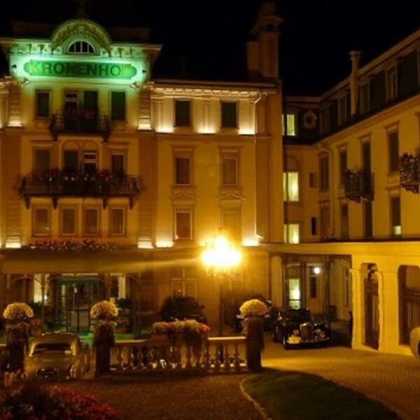 hotel kronenhof en pontresina