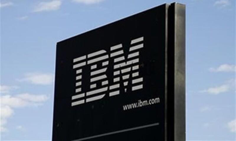 Los analistas esperaban ventas de 26,260 mdd, en línea con lo reportado por IBM. (Foto: Reuters)