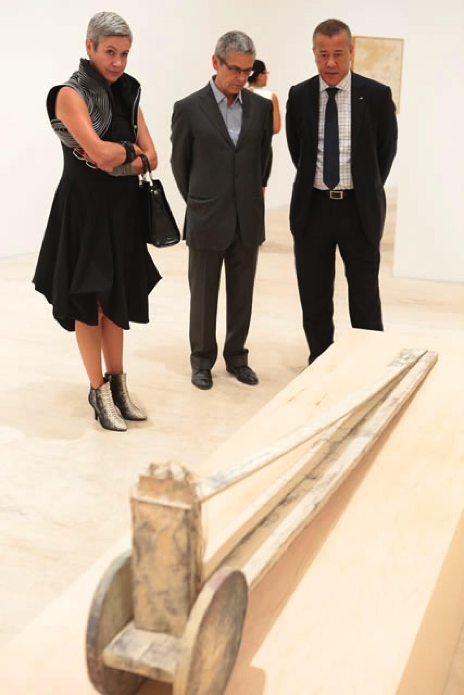 Christiane Fisher, Michel Blancsubé y Patrick Fon.